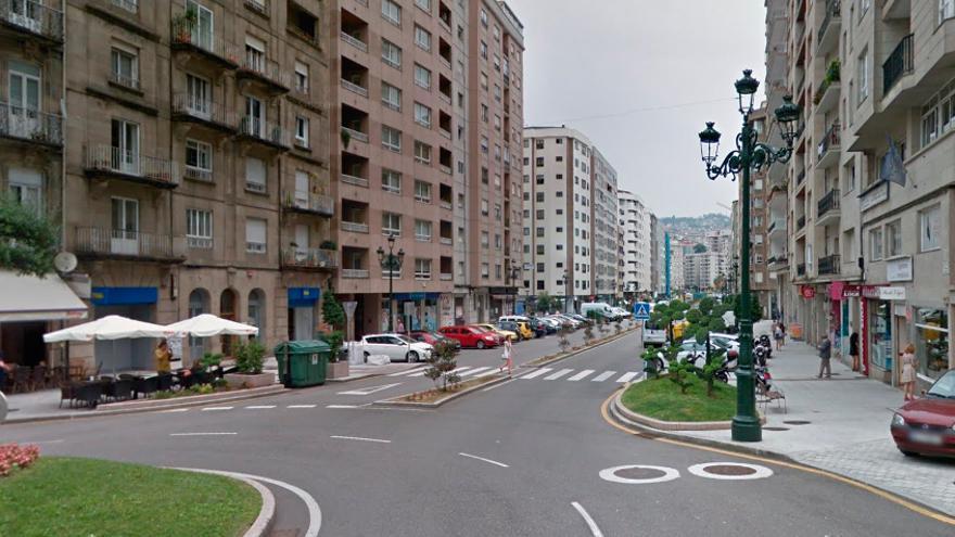 Detenida una pareja tras repartirse botellazos, paraguazos y empujones en Vigo