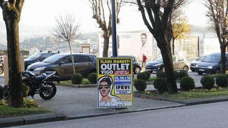 """El pequeño comercio de Vigo, en contra de la feria """"outlet"""": """"Nos mata la campaña de Navidad"""""""