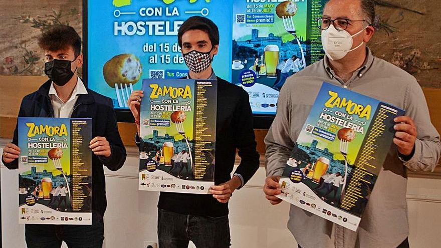 """La campaña """"Zamora con la hostelería"""" ofrece premios por consumir en los bares"""