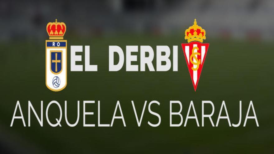 Anquela vs. Baraja: los entrenadores de Oviedo y Sporting hablan sobre el derbi