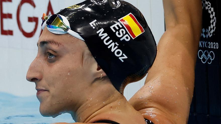 La nadadora Lidón Muñoz, eliminada en las series de los 100 libre