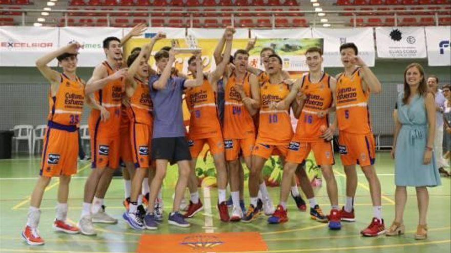 Valencia Basket se alza con el II Torneo Ciutat de Torrent