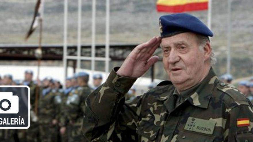 Las imágenes del reinado de Juan Carlos I