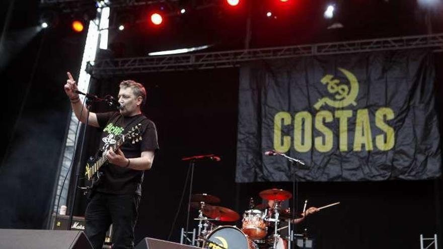 """El ex de """"Siniestro Total"""" Miguel Costas será cabeza de cartel rockero en La Carriona"""