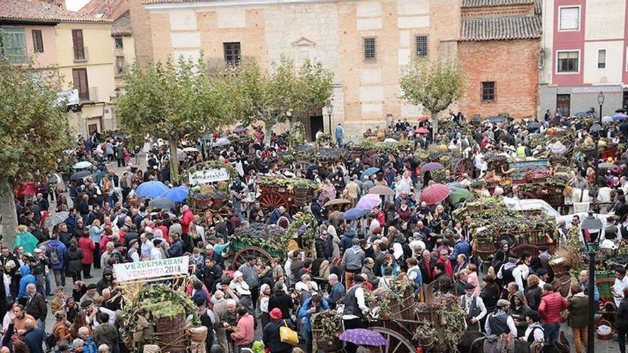 La fiesta de un pueblo unido al vino