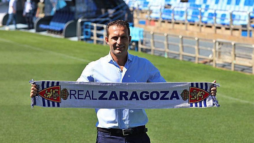 Baraja ya ejerce como técnico del Zaragoza