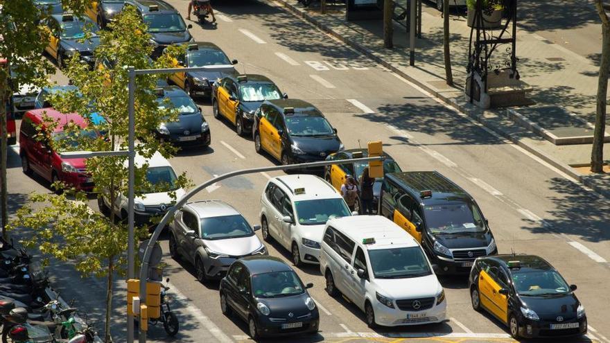 Los taxistas se movilizan en España