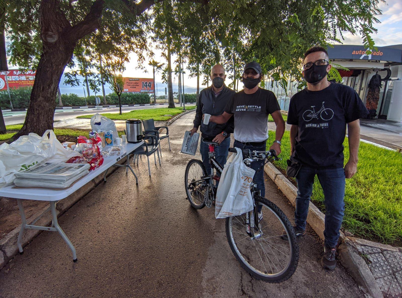 Levante-EMV y Soterranya premian el uso de la bici
