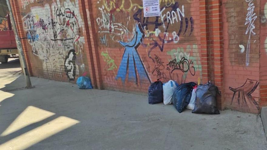 El Ayuntamiento de Benavente insiste en el traslado del contenedor de la Mota