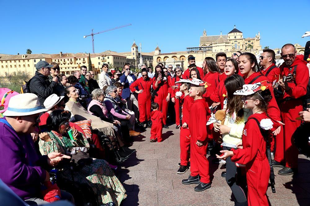 El Puente Romano se viste de Carnaval