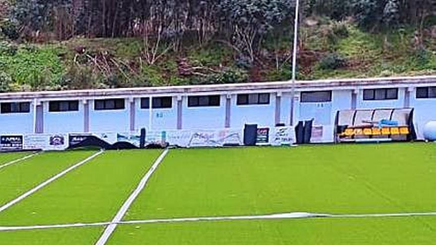 El campo de Barranco  de Las Lajas estrenará su nuevo césped en febrero