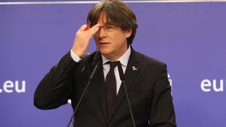 EL TJUE admite a trámite la consulta de Llarena sobre las euroórdenes contra Puigdemont y los exconsellers