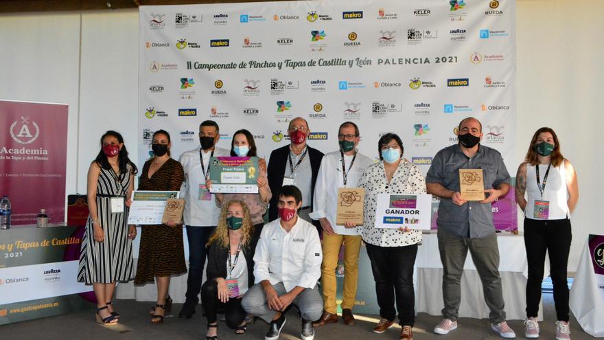 La gastronomía zamorana triunfa en el II Concurso de pinchos de Castilla y León