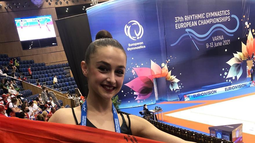 Irene Martínez logra un meritorio octavo puesto en el Europeo de Bulgaria