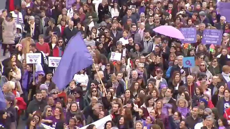 El feminismo clama en España contra la violencia sexual