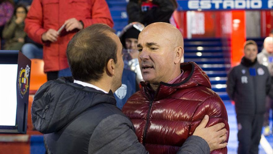 """Luis César: """"Con empates no nos llega; mientras no ganemos, no estaré contento"""""""