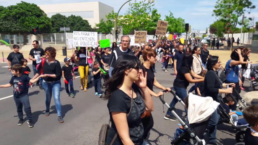 """El Marçà exige el nuevo colegio """"ya"""""""