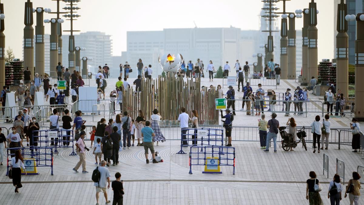 Tokio registra 3.865 nuevos contagios, casi el doble que una semana antes.