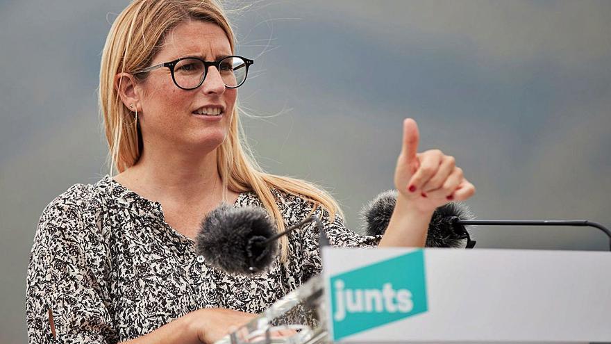 JxCat busca un front comú amb ERC per aprofitar la «feblesa» de Sánchez