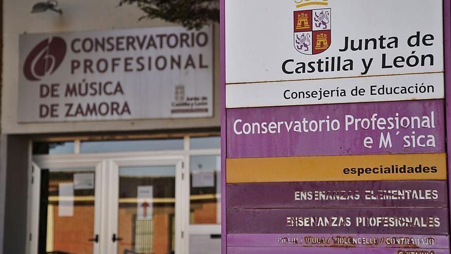 Puertas cerradas para el Conservatorio de Zamora