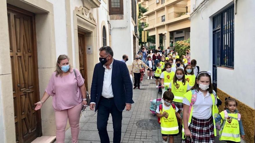 El programa 'Camino al cole' de Córdoba cuenta con 176 alumnos inscritos