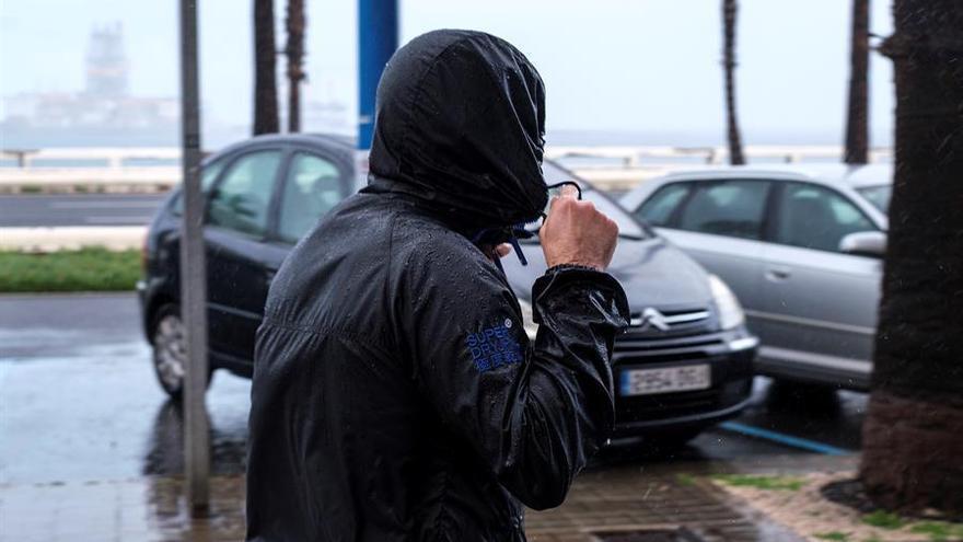 Precipitaciones débiles dispersas y temperaturas en ascenso este martes en Extremadura