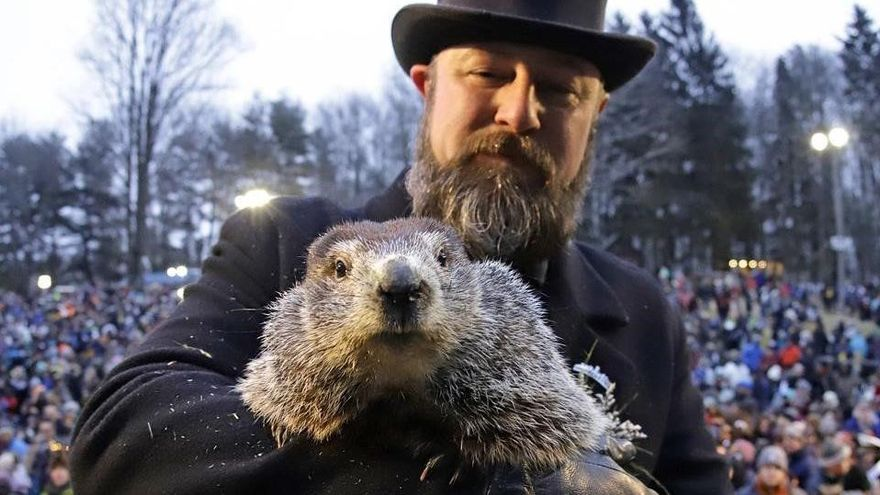 La marmota Phil pronostica el final de l'hivern: falta molt per la primavera?