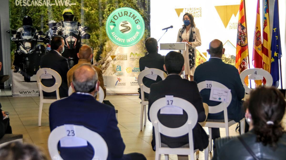 Acto de la Asociación Turismo Alicante Interior en Alcoy.