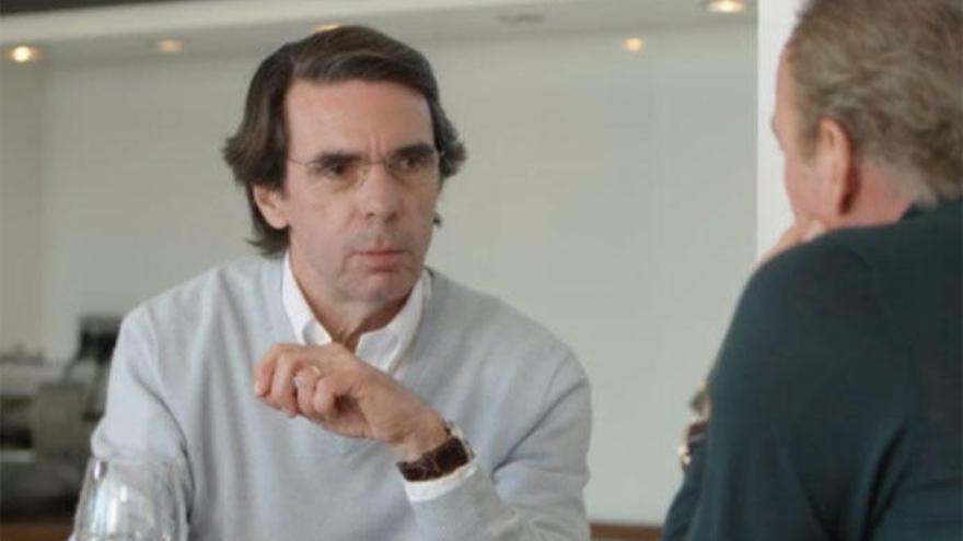 Aznar, próximo invitado de Bertín Osborne en 'Mi casa es la tuya'