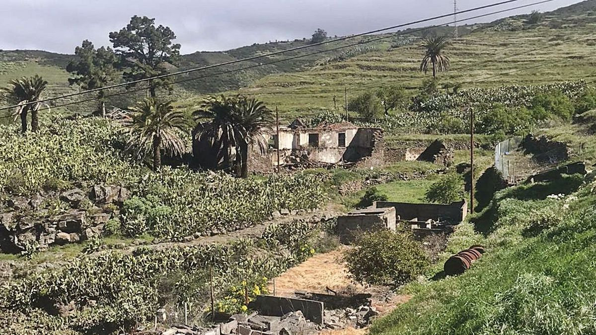 Casa de Los Ayala, en Chipude.