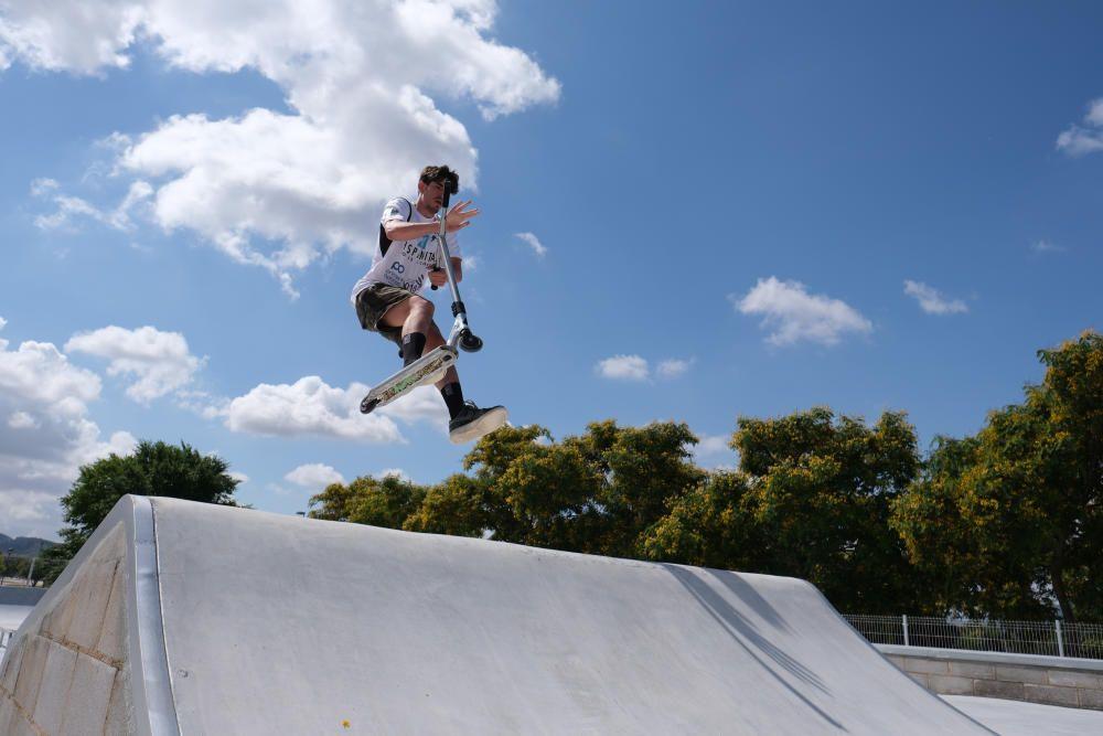Skate Park de Elda: así es el nuevo parque deportivo