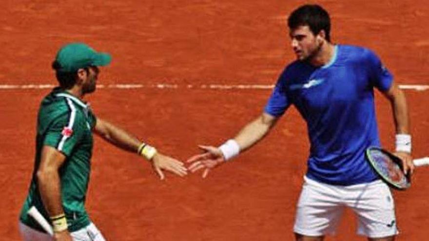 Andújar y Martínez se quedan sin final en Roland Garros
