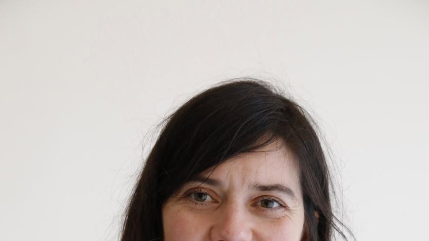 Laura Tuero presenta su candidatura a las primarias de Podemos en Gijón