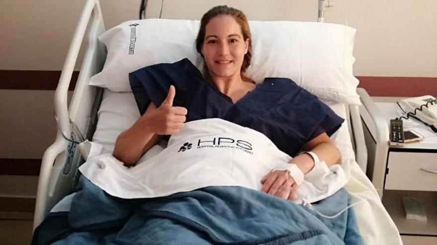 Haridian Rodríguez pasa por el quirófano con resultado satisfactorio