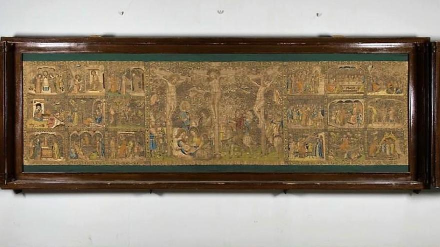 El Frontal Florentí de la Seu de Manresa es restaurarà, per fi, i es traslladarà a l'interior del temple