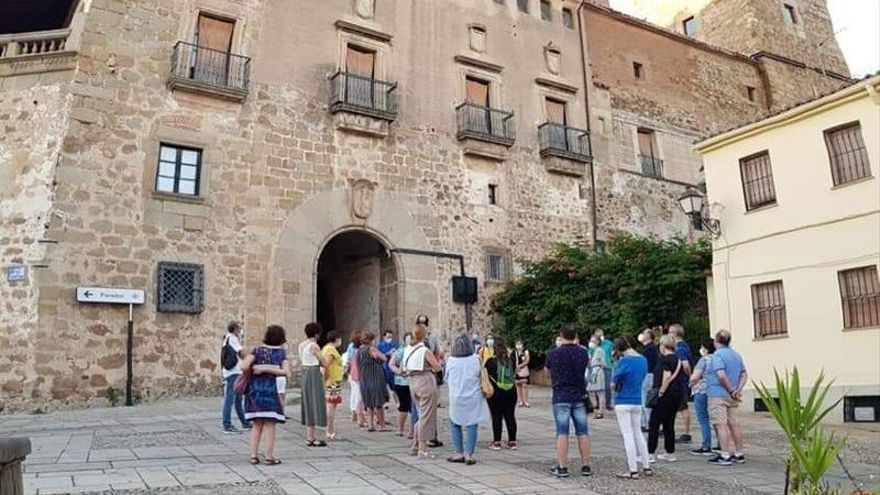 Plasencia multiplicó sus turistas en el puente del Pilar, con una media de 840 diarios