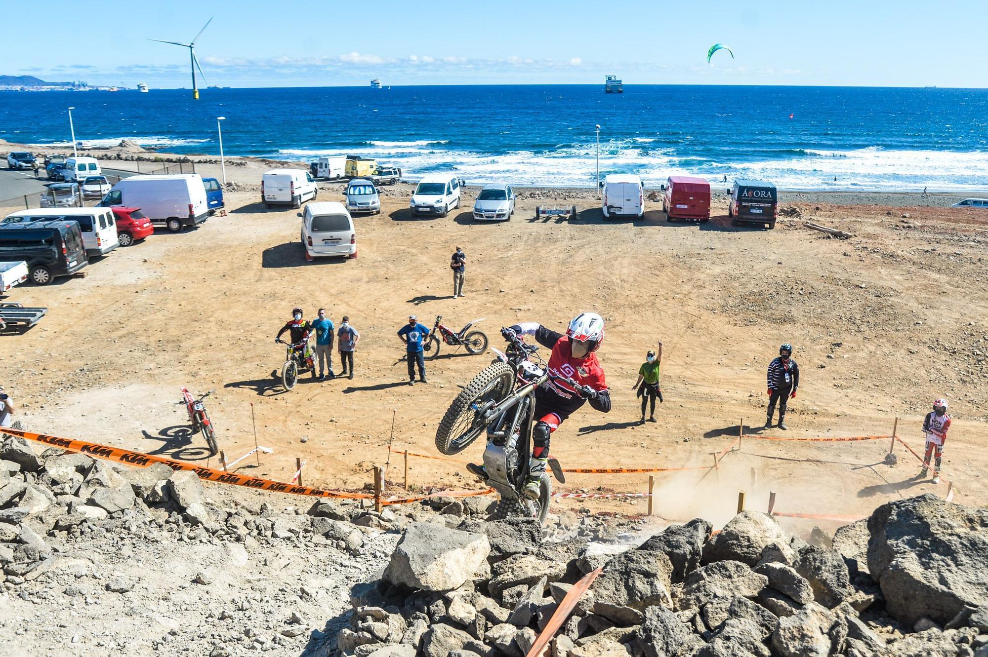 Primera prueba del Campeonato de Canarias de trial en una zona anexa a Las Terrazas (9/05/2021)