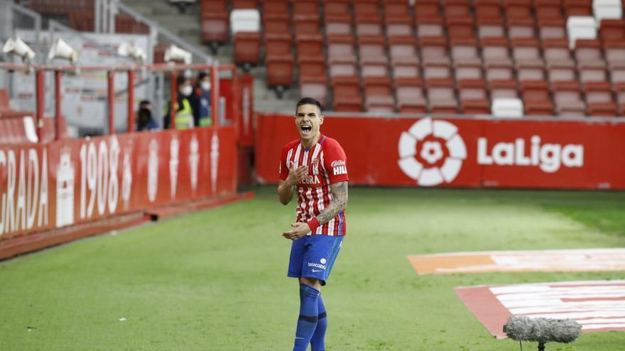 La opinión sobre el futuro del delantero del Sporting: De Luis Enrique a Djuka