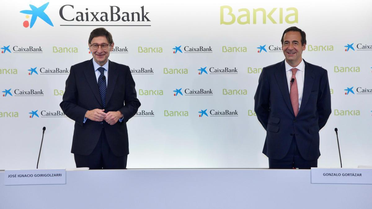 L'impacte de l'ajust de la plantilla és el repte més gran de la fusió de CaixaBank i Bankia