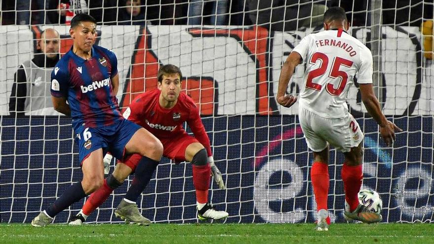El Levante UD cae eliminado ante el Sevilla en la Copa del Rey