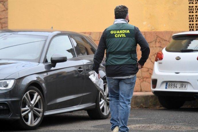 Continúa la búsqueda del taxista desaparecido en Teror