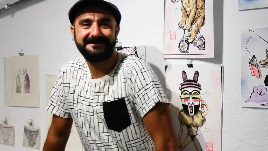 El artista callejero SOMA regresa a la isla