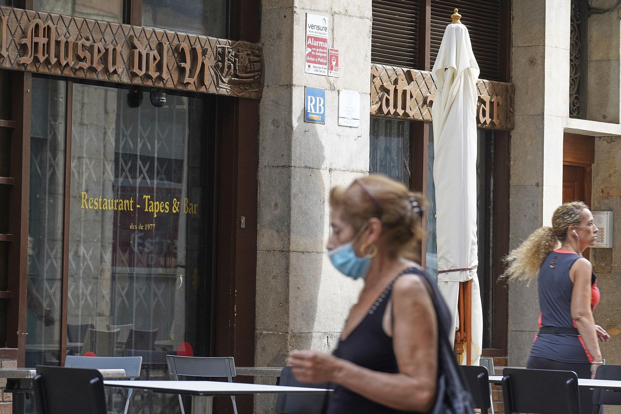 L'històric restaurant gironó El Museu del Vi, tancat