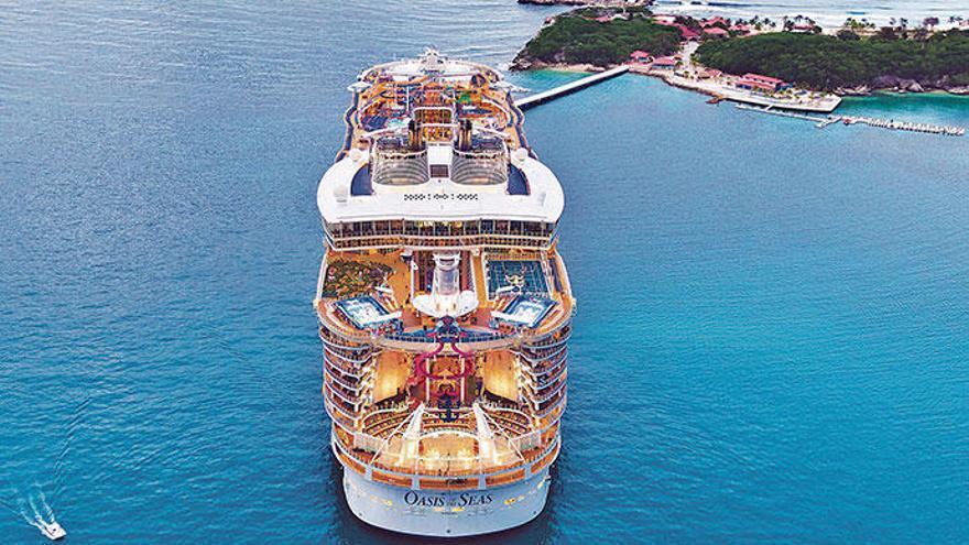 Luxus oder XXL - das sind die Kreuzfahrtschiffe in Palma im August