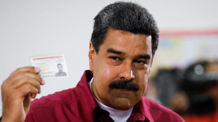 """Maduro llama a votar """"por la paz"""" en las elecciones"""