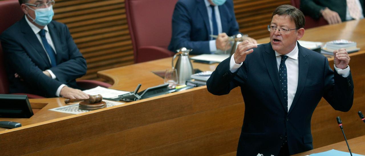 El presidente de la Generalitat, Ximo Puig, ha puesto el foco esta semana en las desigualdades territoriales por el efecto capitalidad de Madrid.