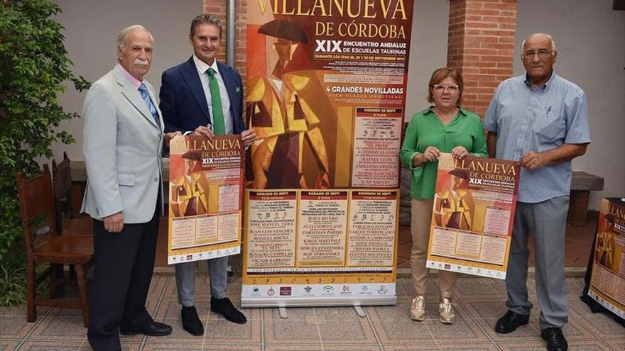 Presentación del cartel del XIX Encuentro de Escuelas Taurinas