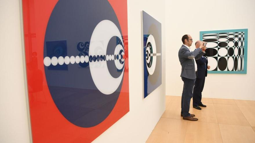 Exposición 'Métrica y espiritualidad' del artista José Antonio Míguez en Afundación