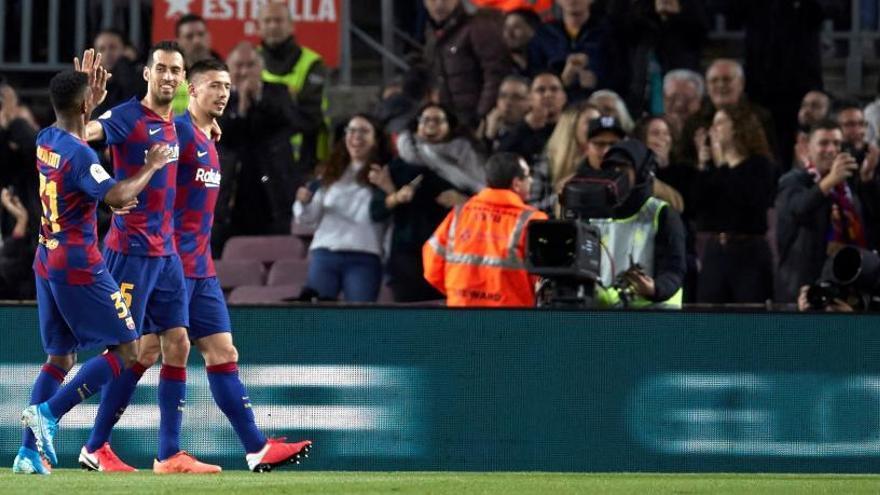 El Barça tindrà un perillós rival als quarts de final de la Copa
