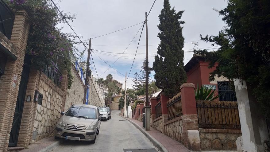 Carrera de obstáculos en la calle Vicente Espinel